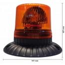 LED švyturėlis tvirtinamas